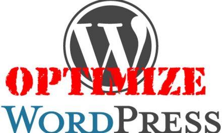 4 Major Tips for WordPress Optimization