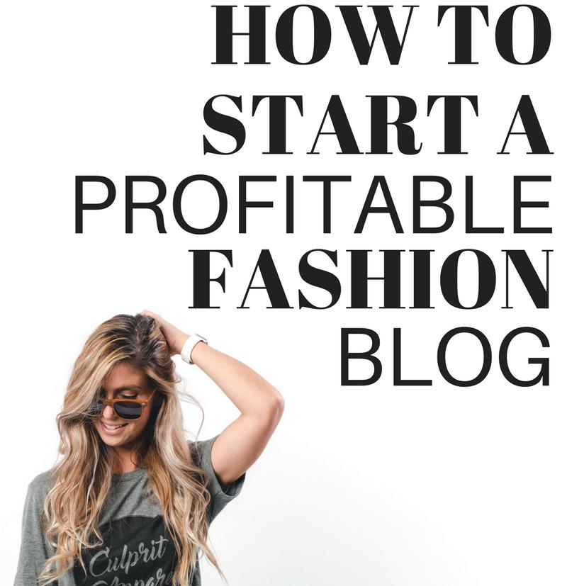 how to start fashion blog